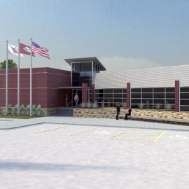 Wilson Estes Police Architects presents Clarksville Police Facility Design
