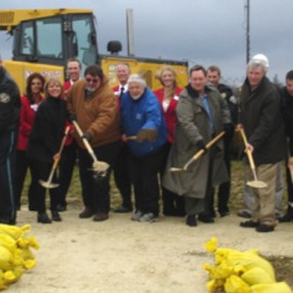 Marion Police Department Celebrates Ground Breaking