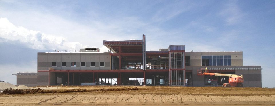 Marion Police Headquarters Construction Progress Update - Wilson Estes Police Architects