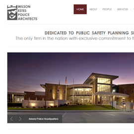 Wilson Estes Police Architects Launches New Website